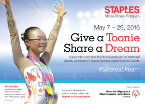 Give a Toonie - Share a Dream