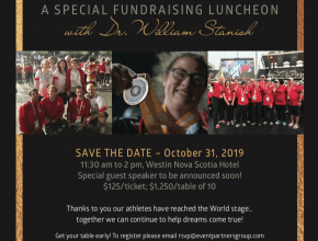 Dr. Stanish Luncheon October 31, 2019