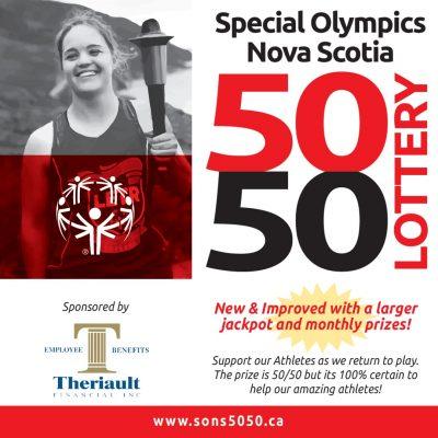 Special Olympics Nova Scotia 50 50 Lottery